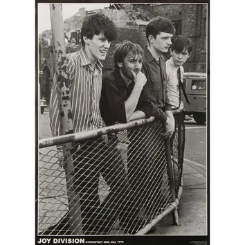 Joy Division Import Poster