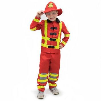 Flamin' Firefighter Children's Costume, 10-12