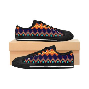 Men's African Tribal Sneakers