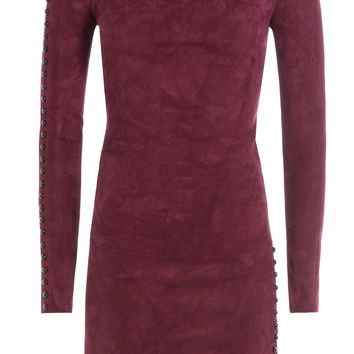 Jitrois - Suede Mini Dress