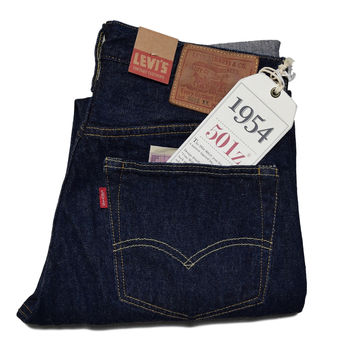 LEVIS VINTAGE CLOTHING RINSED 1954 501® JEANS
