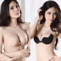 Self-Adhesive Silicone Seamless Strapless Invisible Bra
