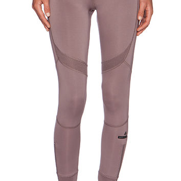adidas by Stella McCartney Running 7/8 Tight in Taupe