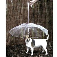 Novelty Pet Dog Umbrella with Chain for Rainy Days - Walmart.com