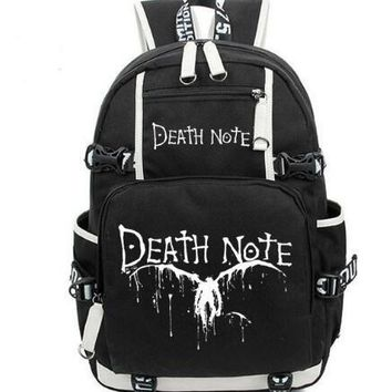Anime Backpack School kawaii cute Death Note Backpacks women men Shoulder Bag Boys Girls Travel Laptop Book Bags Movie Bag Teenages FashionMochila Escolar AT_60_4