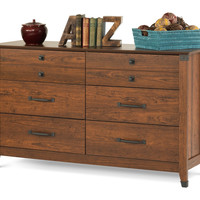 Child Craft Redmond Double Dresser Coach Cherry F02809.06