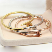 Nail Fashion Brand Jewelry Bangle