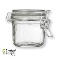 Airtight Glass Storage Jar With Lid