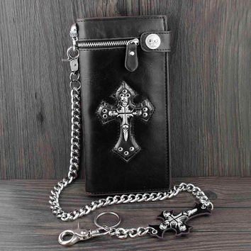 Big Cross Tall Wallet With Chain (2017 Edition)