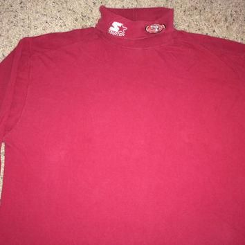 Sale!! Vintage Starter SF 49ers long sleeve sweatshirt NFL Pro Line Sweater Football J