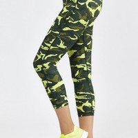Combat Capri in Fluro Camo by HPE | New Arrivals | BANDIER