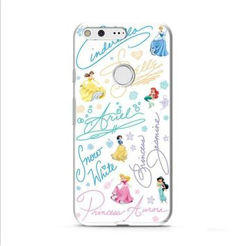 Disney Princess Sign Google Pixel 2 case