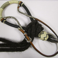 Dale Chavez Bosal Set with Horse Hair Mecante