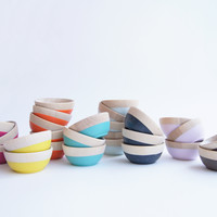 Mini Bowls, choose your favorite Fall | Winter Colors