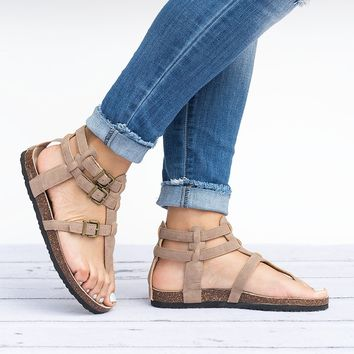 Gladiator Footbed Sandals