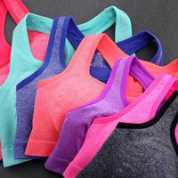 Sweat Absorbing Quick Drying Push-up Sport Bra