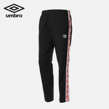 Umbro 2018 New Adult Sports Pants Loose Cotton Men Running Leisure Sportswear Long Trousers UI182AP2329