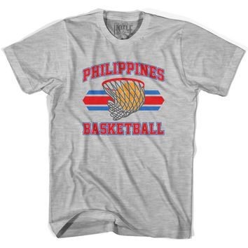 Philippines 90's Basketball T-shirts-Adult