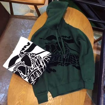 Burberry Woman Men Fashion Hoodie Top Sweater Pullover