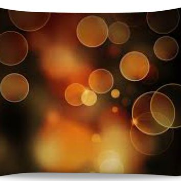 ROPC Brown Lights Pillow Case