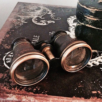 Antique Opera Glasses / Vintage Binoculars / Theater Glasses