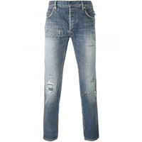 Balmain biker jeans | The Webster