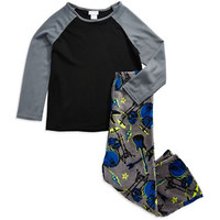 Capelli Two Piece Folded Snowboarder Pajamas Gift Set