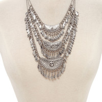 Teardrop Statement Necklace | Forever 21 - 1000203498