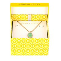 Kiri August Birthstone Necklace in Peridot - Kendra Scott Jewelry