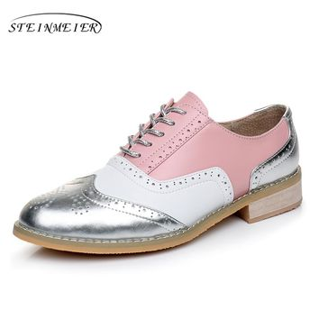 Round Toe Oxford Lace Up Bowling Shoe