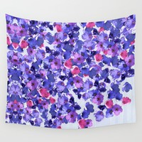 In the land of grey and pink Wall Tapestry by anipani