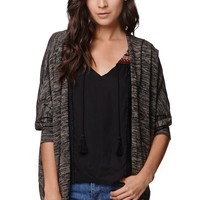 LA Hearts Marled Cocoon Cardigan - Womens Sweater