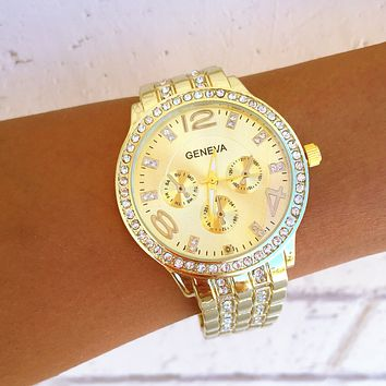 Bella Gold Watch