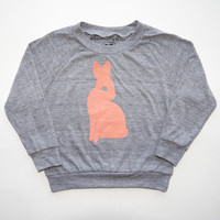 Bunny Rabbit Kids Long Sleeve Raglan