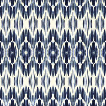 Boheme Indigo Removable Wallpaper