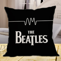 The Beatles on square pillow cover 16inch 18inch 20inch