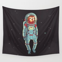 Slothstronaut Art Print by JamesDraws