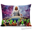 Jesus Died For Your Sims Pillow Case