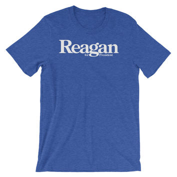 Reagan for President 1980 Retro Campaign T-Shirt