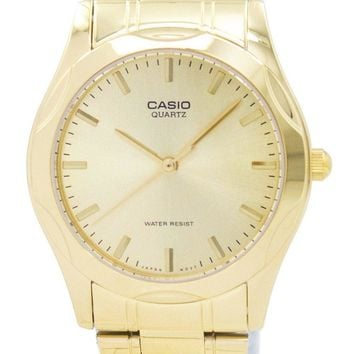 Casio Quartz Analog Gold Plated MTP-1275G-9ADF MTP1275G-9ADF Men's Watch