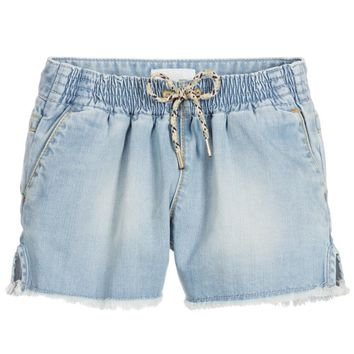Girls Denim Shorts (Mini-me)