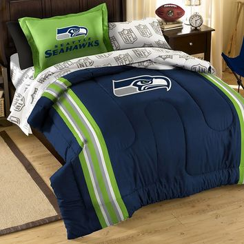 Seattle Seahawks 5-piece Twin Bed Set