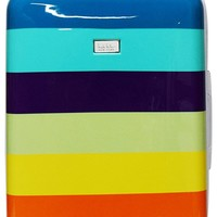 "Nicole Miller Rainbow 24"" Hard-Sided Luggage Spinner"