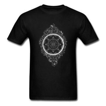 Sacred Geometry Sri Yantra T-shirt