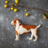 Stitched Dog Ornament - Beagle
