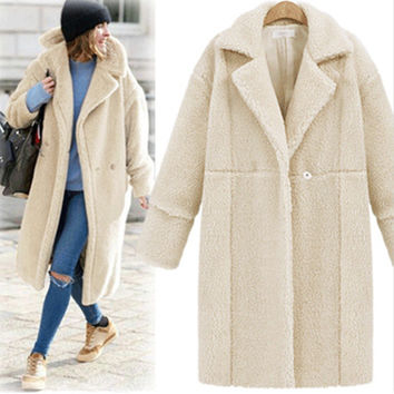 Winter Women's Fashion Hot Sale Long Sleeve Coat Jacket [9631627727]