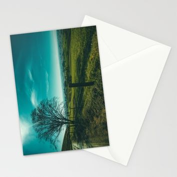 The Walk Home Stationery Cards by Mixed Imagery