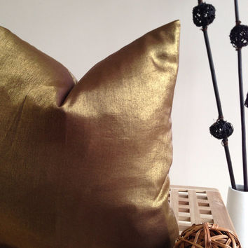 Best Gold Couch Pillows Products On Wanelo Enchanting Bronze Decorative Pillows