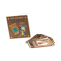 The Golden Tarot Book and Card Set