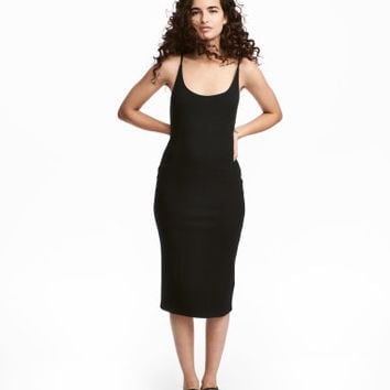 H&M Ribbed Jersey Dress $12.99